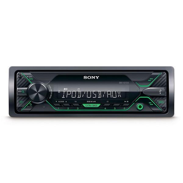 Sony dsxa212ui receptor multimedia con usb para coche iluminación verde