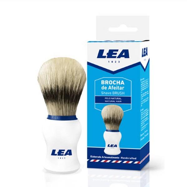 Lea brocha de afeitar pelo natural 1u
