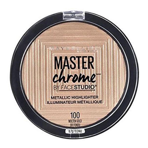 Maybelline masterchrome metallic highlighter 100 molten gold