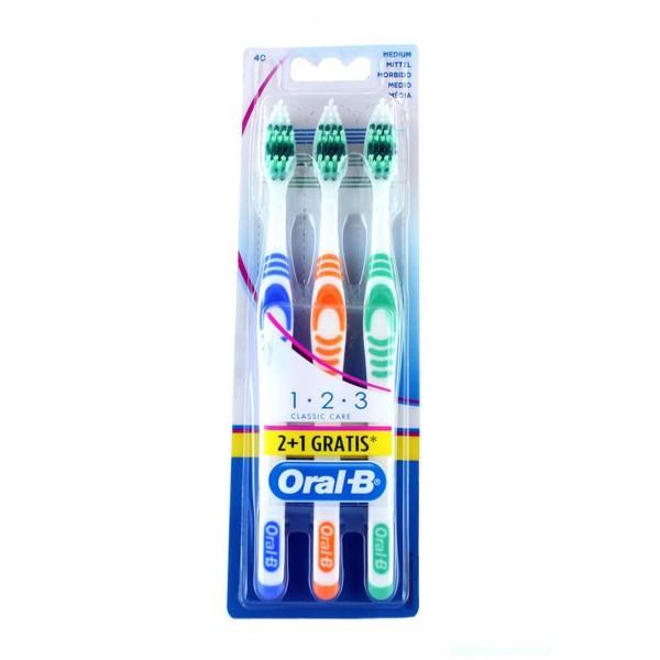 Oral b cepillo classic 2u+1 gratis