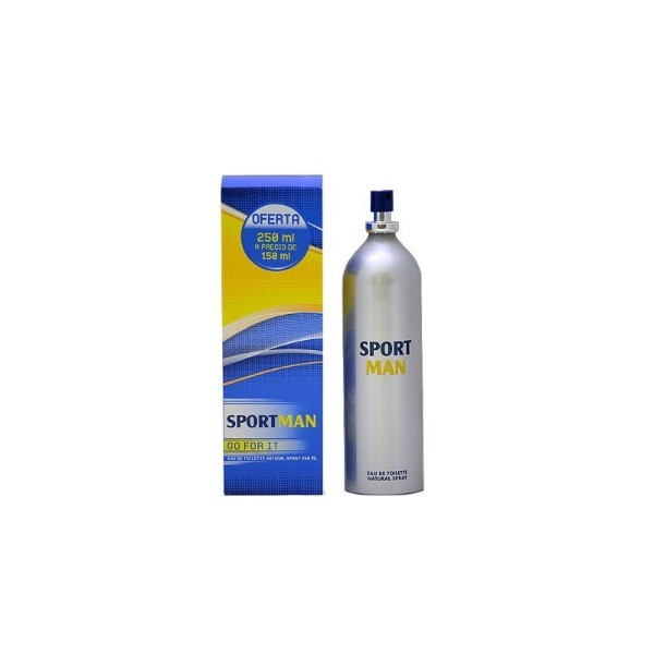 SPORT MAN EDT Natural Spay  250 ml