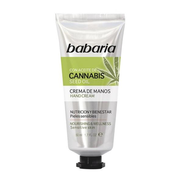 Babaria cannabis crema de manos 50ml