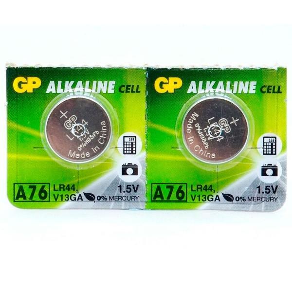 Gp pila alcalina lr44 a76 1.5v