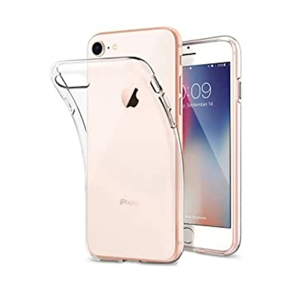 Jc carcasa transparente apple iphone 8/7/6s/6