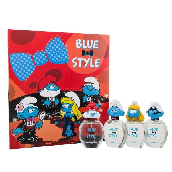 Pitufos los pitufos blue pack eau de toilette 4 personajes 50ml